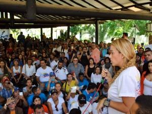 Lilian Tintori: con nuestro voto el 6D arranca la Mejor Venezuela