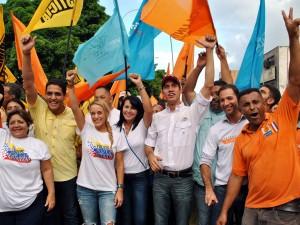 Lilian Tintori visitó Vargas para promover la ruta por la libertad