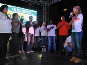 Artistas se unieron a Todos por la Libertad desde Montalbán