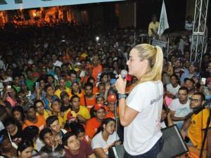 Lilian Tintori: Guárico es ejemplo de que Venezuela ya cambió