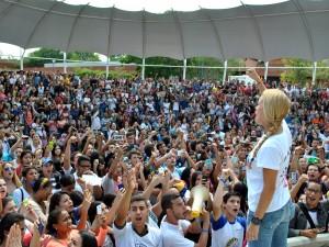 """Guayana presenció la fuerza de la campaña """"Todos por la Libertad"""""""
