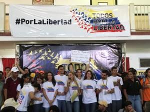 """Campaña """"Todos por la Libertad"""" <br> eleva mensaje de lucha por la libertad en Carabobo"""