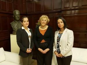 La Alcaldesa de Madrid respalda decisión de la ONU sobre la detención <br> arbitraria de Ledezma