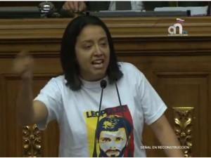 Diputada Arellano: el 6D la Unidad le dio una redoblona al Bloque <br> de la Crisis porque el pueblo no quiere más presos políticos