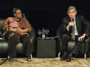 Naomi Tutu: Quienes están en silencio frente a la injusticia sufrirán las <br> consecuencias