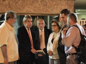 Funcionarios del SEBIN negaron visita del Premio Nobel de la Paz <br> Oscar Arias al Alcalde Ledezma