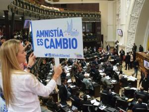 Lilian Tintori: aprobación de la Ley de Amnistía es el primer paso hacia el <br> rescate de la justicia en Venezuela