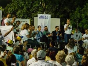 Lilian Tintori, abogados y Víctimas de la Represión visitaron Lara para <br> continuar impulsando la Ley de Amnistía