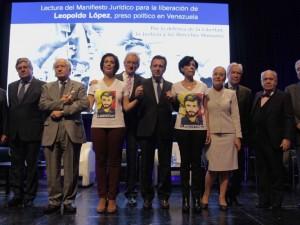 Juristas de veinte países consideran nulo el juicio a Leopoldo López