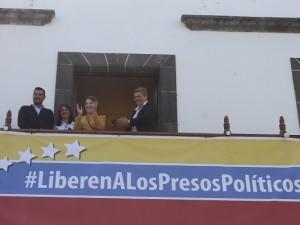Mitzy de Ledezma recibió apoyo del Ayuntamiento de Los Llanos de <br> Aridane