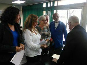 Conferencia Episcopal Venezolana recibió a familiares de presos políticos <br> para intermediar entre ellos y el gobierno