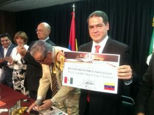 INCDA de México otorgó reconocimiento a Leopoldo López y exigen su <br> libertad