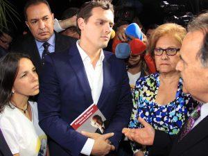 """Albert Rivera: """"El Alcalde Metropolitano no sólo está preso, está <br> incomunicado"""""""