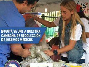 Lilian Tintori: Recolectaremos esperanza para los venezolanos en Bogotá