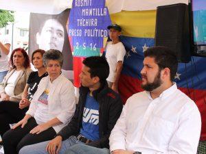 Rosmit Mantilla: mi compromiso es con la libertad y la democracia