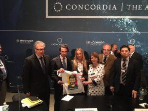 Lilian Tintori expone ante Cumbre de las Américas Concorde crisis de <br> salud en Venezuela