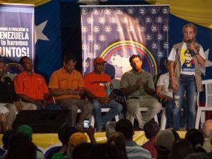Rescate Venezuela comenzó su gira nacional en el estado Sucre