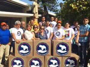 Rescate Venezuela entrega donativos a la fundación San Vicente de Paul <br> en Cumaná