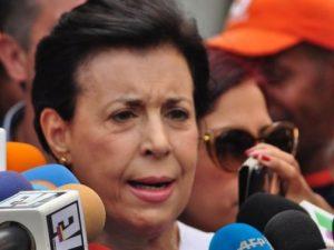 Guardia Nacional agrede a madre de Leopoldo López antes de la lectura de <br> la ratificación de la sentencia al líder opositor