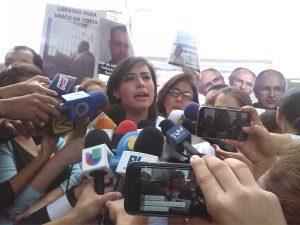 Patricia Ceballos: El 1S los familiares de presos políticos seremos los <br> primeros en participar
