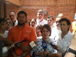 Mitzy de Ledezma: basta de atropello a los derechos humanos
