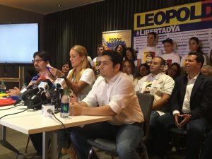 Tintori: con la condena de Leopoldo López el gobierno ratifica la dictadura <br> en Venezuela