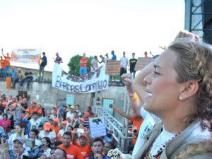 Barineses se comprometen con la lucha no violenta para activar el <br> revocatorio