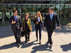 Lilian Tintori denuncia ante la ONU persecución y represalia por parte del <br> Gobierno nacional