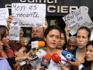 Rosaura de Goicoechea exige ante la Defensoría del Pueblo garantizar <br> DDHH de su esposo y demás presos políticos en el Sebin