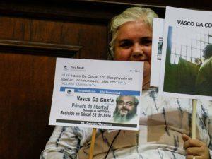 Familiares de Vasco Da Costa denuncian condiciones inhumanas en cárcel <br>de Tocuyito