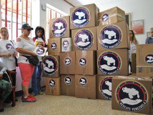 Casa Hogar Madre Marcelina de Catia recibe donación de Rescate Venezuela
