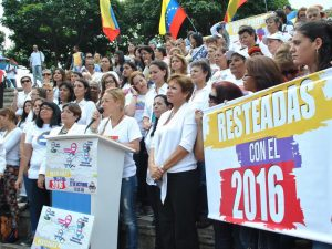 Lilian Tintori: iremos a la autopista motivadas por la profunda convicción<br> de que lograremos la libertad este 2016