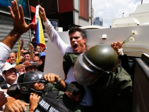Leopoldo López: convoco a todos los venezolanos a que con <br> fuerza, espíritu y convicción tomemos Venezuela este próximo <br> 26 de octubre