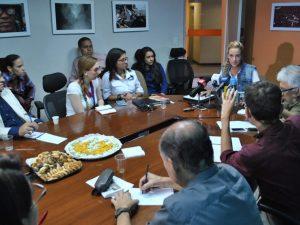 Lilian Tintori: a pesar de las torturas Leopoldo López continúa firme y en <br> desobediencia cívica por Venezuela