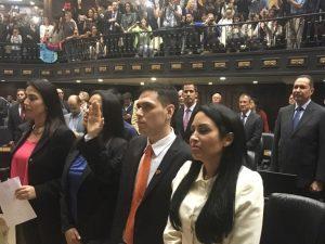 Juramentado diputado Rosmit Mantilla en la Asamblea Nacional