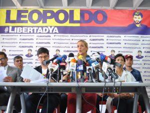 Lilian Tintori: Leopoldo López cumple 1000 días de resistencia y lucha por <br> el pueblo venezolano