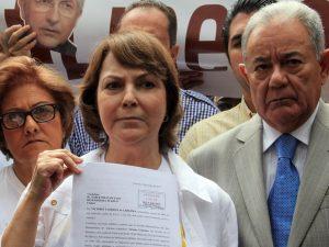 """Mitzy Capriles """"El Presidente no tiene un solo elemento de <br>juicio para mantener preso a Antonio Ledezma"""""""