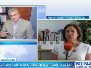 """""""Braulio Jatar pidió regresar a Chile"""": Exministra de educación sobre carta <br>enviada por el comunicador preso en Venezuela"""
