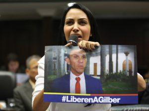 Delsa Solórzano: El diputado Gilber Caro  no está detenido, sino secuestrado