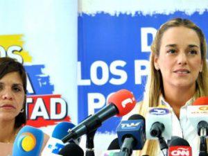 Lilian Tintori: intentar silenciar la voz de Gilber Caro es silenciar la voz de <br> los venezolanos