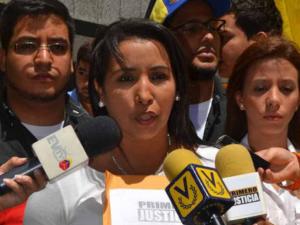 Yajaira Castro: En un país donde existen presos políticos no <br>hay democracia