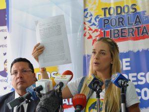 Lilian Tintori a Maduro: un verdadero hombre cumple con su <br> palabra