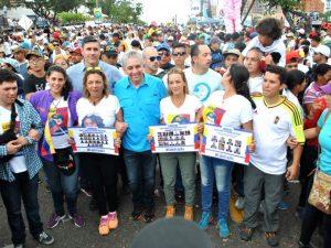 Lilian Tintori dedica procesión de la Divina Pastora a los presos políticos <br>venezolanos