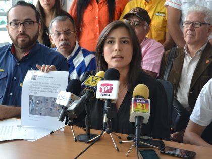 Patricia de Ceballos: Vielma Mora tendrá que responder ante instancias <br>internacionales por la violación de DDHH