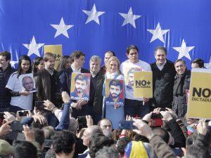 Desde Madrid alzaron la voz por la libertad de Leopoldo López