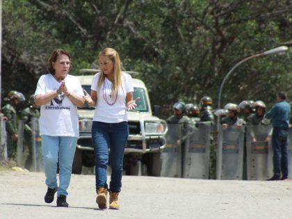 Mitzy de Ledezma: Aislamiento de Leopoldo López es una flagrante <br>violación de Derechos Humanos