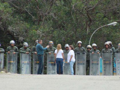 Impiden entrada de Lilian Tintori en Ramo Verde