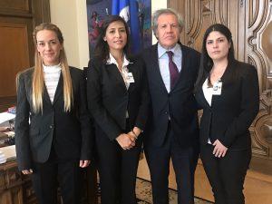 Secretario General de la OEA recibe carta de Yon Goicoechea <br>y rechaza su situación como preso político
