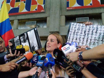 Lilian Tintori: el Estado venezolano quedó al desnudo ante la CIDH <br>así como me desnudan en Ramo Verde